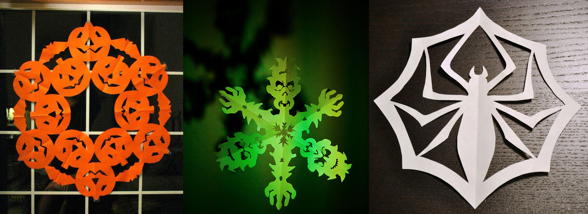 5 Scary Snowflake Templates Perfect for Halloween Decor Crafting ...