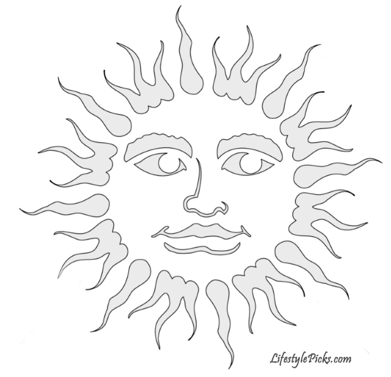 Free Pumpkin Carving Stencils Pirate Cat Aztec Sun